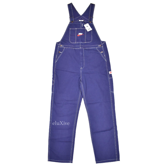 Supreme x Nike - Navy Logo Embroidered Overalls