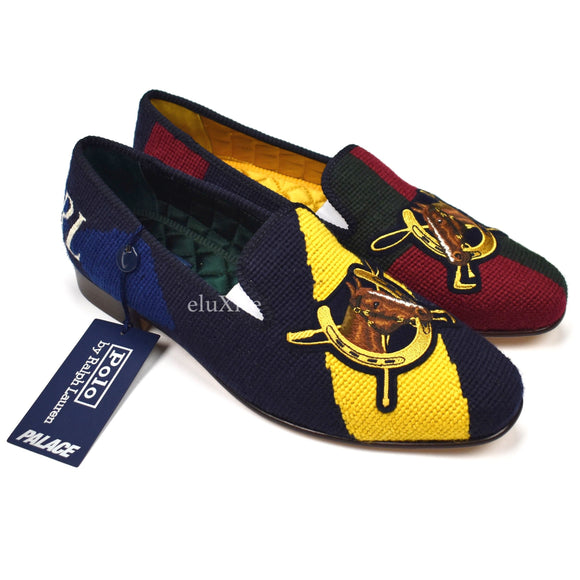Palace x Ralph Lauren - Multicolor Horse Slippers