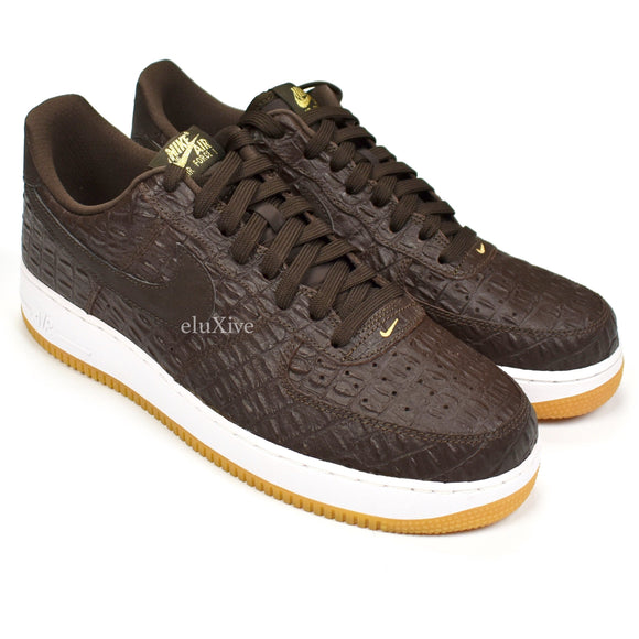 Nike - Air Force 1 '07 LV8 'Brown Croc'