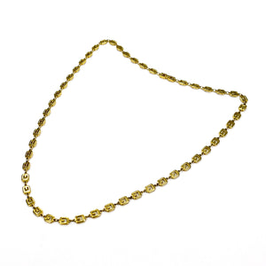 "Givenchy - 31.5"" Gold G Logo Chain Necklace"