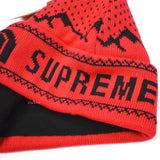 Supreme x The North Face - Red Logo Knit Beanie (FW18)