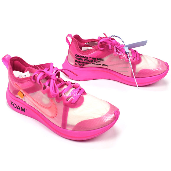 Nike x Off-White - Zoom Fly Tulip Pink