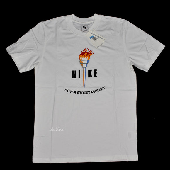 Nike x DSM LA - Torch Logo T-Shirt (White)