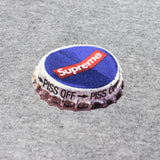 Supreme - Box Logo Bottle Cap T-Shirt (Gray)