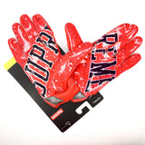 Supreme x Nike - Arc Logo Football Gloves (Red)