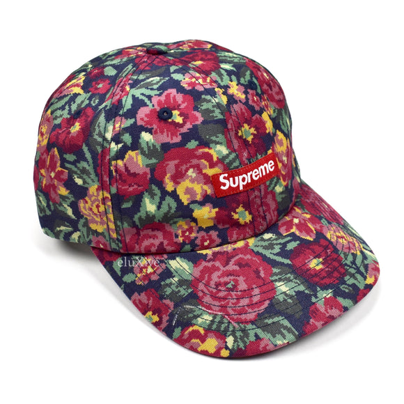 Supreme - Floral Cordura Small Box Logo Hat