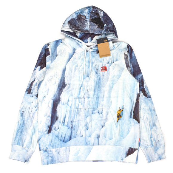 Supreme x The North Face - Ice Climb Print Hoodie