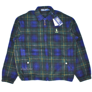 Palace x Ralph Lauren - Blackwatch Plaid Fleece Jacket