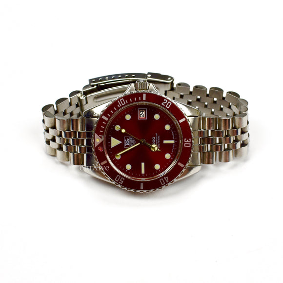 Tag Heuer - 1000 Professional Diver Watch (Red Dial)