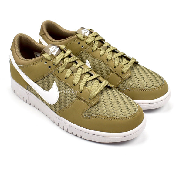 Nike - Dunk Low Woven (Khaki/White)
