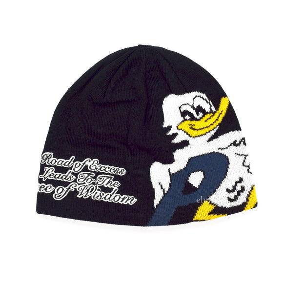Palace - 'Duck Out' Logo Beanie (Black)