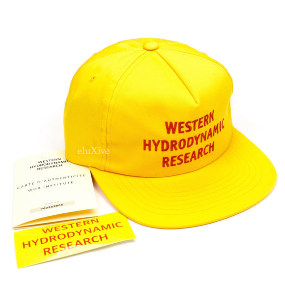 Western Hydrodynamic Research - WHR Promotional Hat (Yellow)