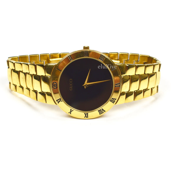 Gucci - 3300M Gold / Black Watch