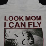 Travis Scott - Look Mom I Can Fly 'Cactus Jack' Hoodie (White)