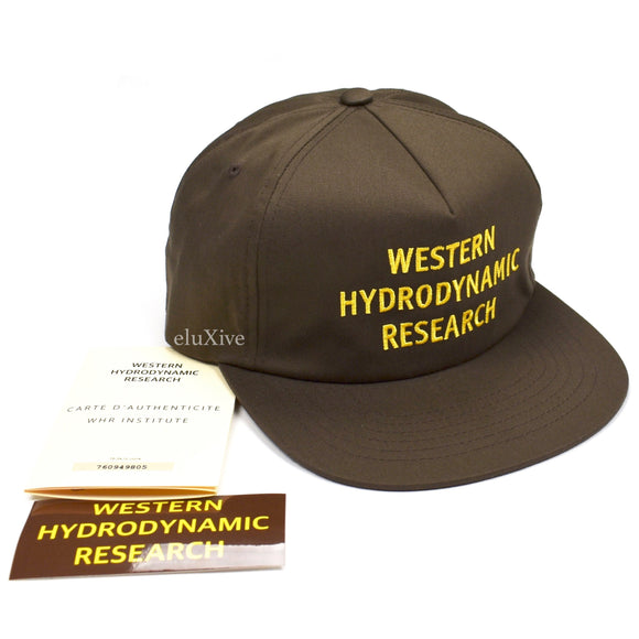 Western Hydrodynamic Research - WHR Promotional Hat (Brown)