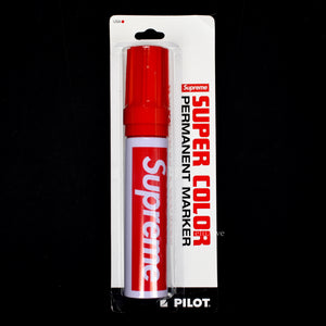Supreme x Pilot - Box Logo Permanent Marker (Red)