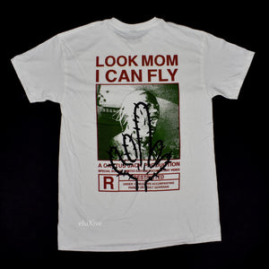 Travis Scott - Look Mom I Can Fly 'Cactus' T-Shirt (White/Green)