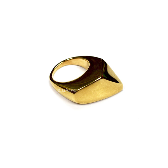 Tom Ford - Gold Abstract Ring