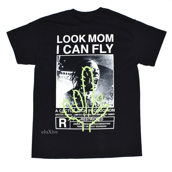 Travis Scott - Look Mom I Can Fly 'Cactus' T-Shirt (Black)