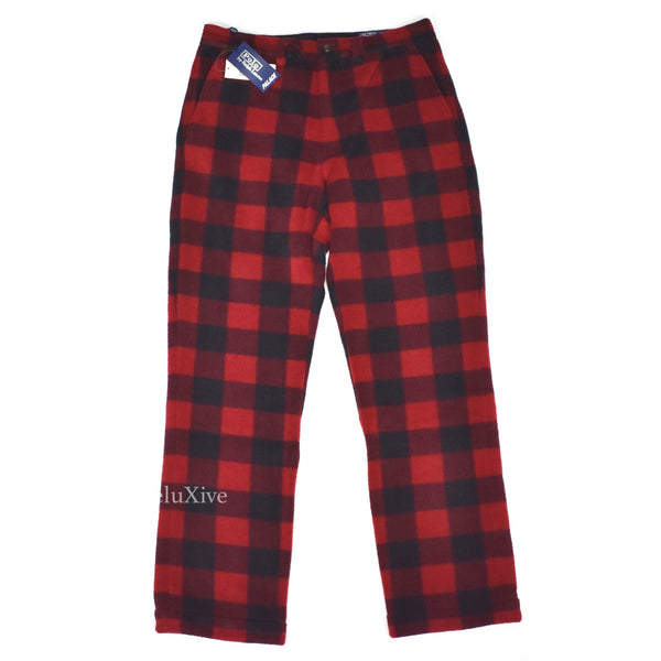 Palace x Ralph Lauren - Buffalo Plaid Fleece Pants
