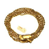 Yves Saint Laurent - Gold Multi-Strand Choker Necklace