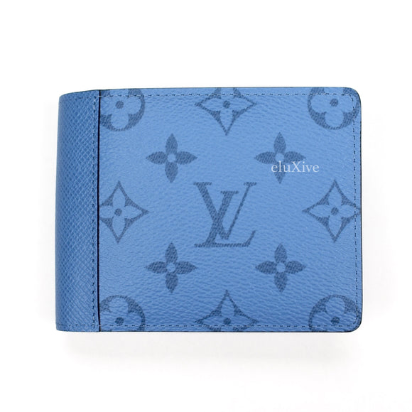 Louis Vuitton - Denim Blue Monogram Multiple Wallet