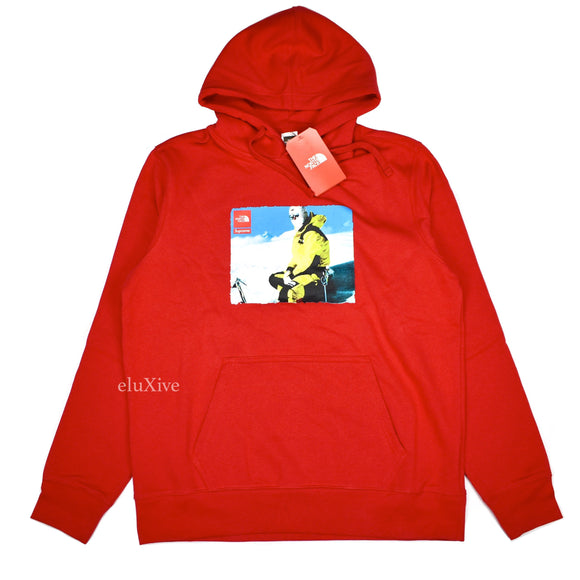 Supreme x The North Face - Red Photo Logo Hoodie