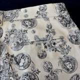 Dolce & Gabbana - Roman Coin Artwork Print Shorts