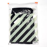 Off-White - Black Mesh Gradient Logo Shorts