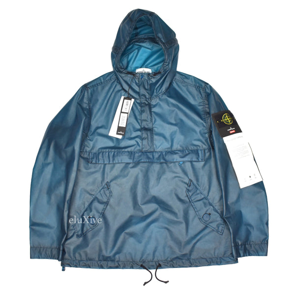 Supreme x Stone Island - Poly Cover Anorak (Teal)
