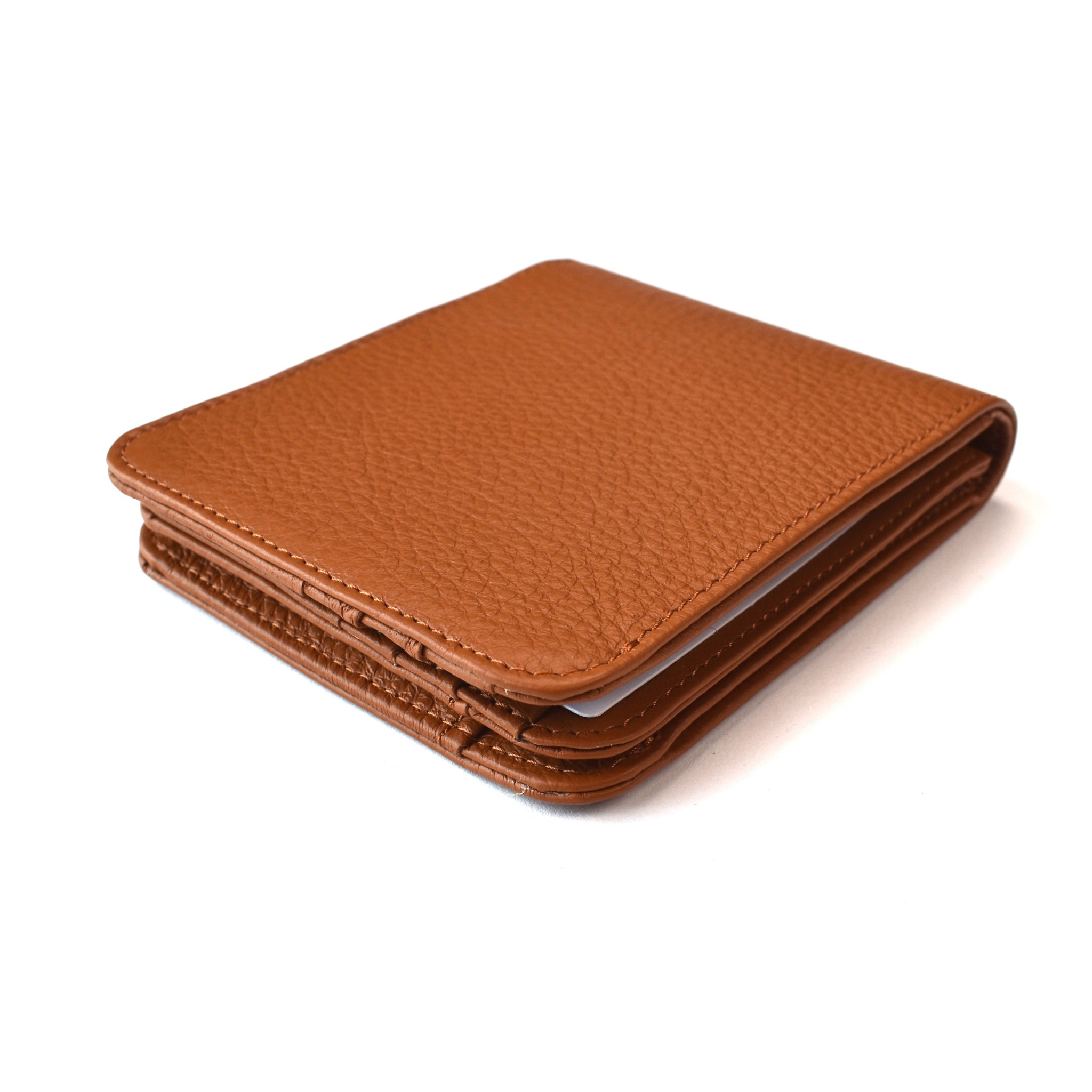 Maison Margiela - Brown Leather Removable Passcase Wallet