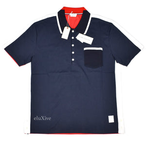 Thom Browne - Color Block Polo Shirt