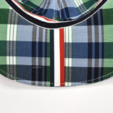 Thom Browne - Plaid Double Woven Hat