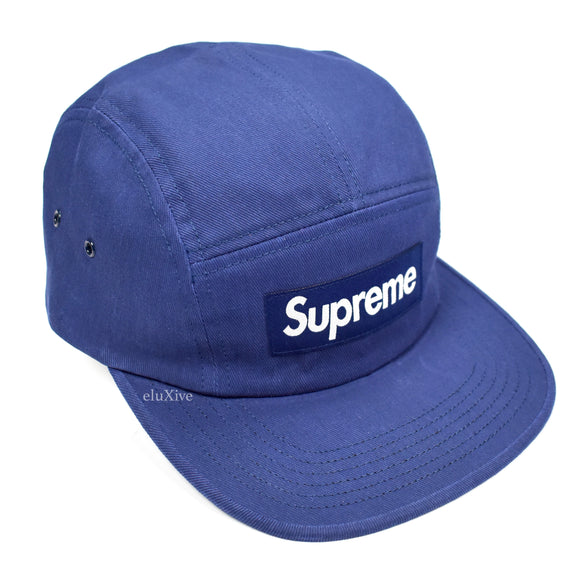Supreme - Heat Reactive Box Logo Hat (Blue)