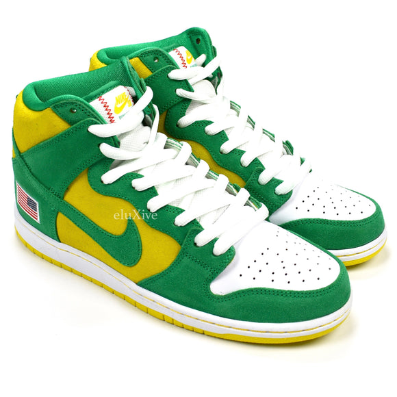 Nike - Dunk High Pro SB 'Oakland Athletics'