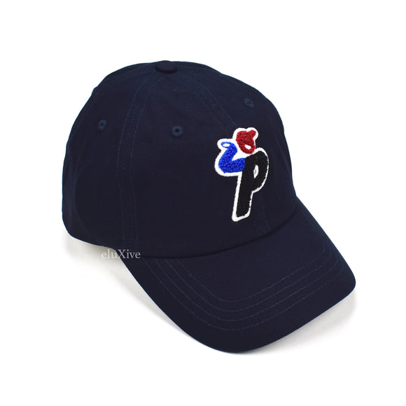 Palace - Running Man P-Logo 'Bunning' Hat (Navy)