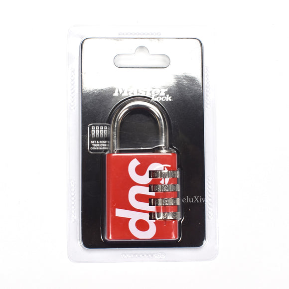 Supreme - Red Box Logo Master Lock