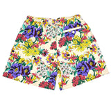 Noah - Floral Print Rugby Shorts (Beige)
