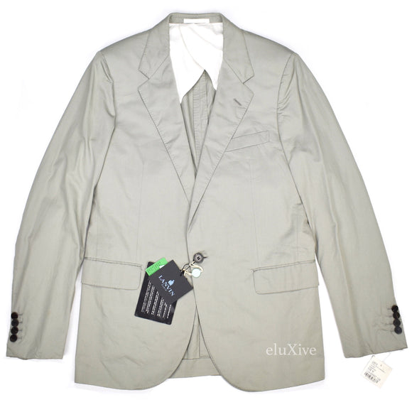 Lanvin - Gray Cotton Sport Coat