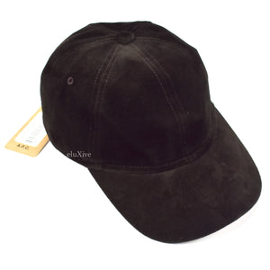 A.P.C. - Dark Brown Velvet Hat