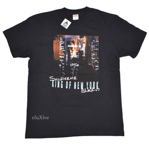 Supreme - Black 'King of New York' T-Shirt