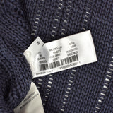 Boglioli - Navy Loose Knit Sweater