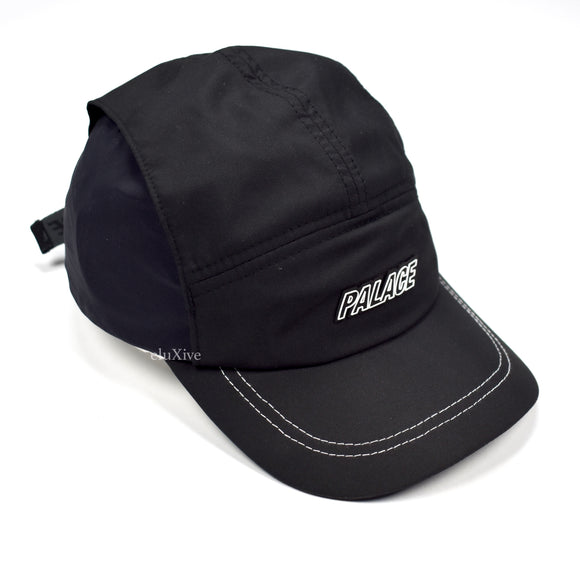 Palace - Black Vent Shell Runner Hat