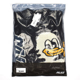 Palace - Duck Out P-Logo Intarsia Knit Sweater (Black)
