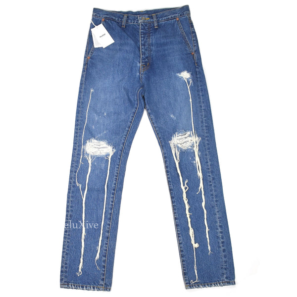 Doublet - 'Too Much Damage' Denim Jeans