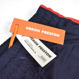 Heron Preston - Navy Russian 'STYLE' Logo Track Pants