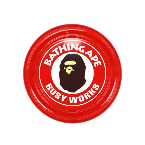 Bape - Busy Works Logo Frisbee (Red)