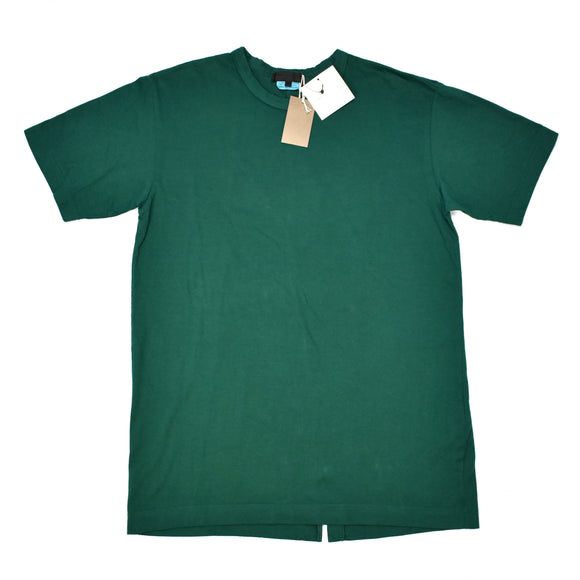Comme Des Garcons - Green Split Back T-Shirt