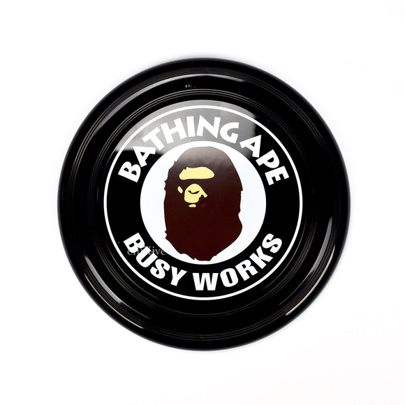 Bape - Busy Works Logo Frisbee (Black)