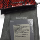 Tom Ford - Red Exotic Python Wallet